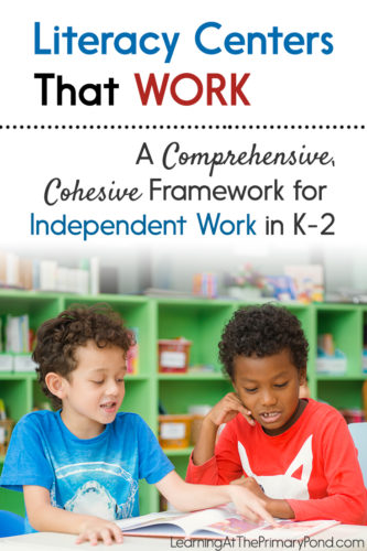 Wondering how to structure literacy centers in your classroom? Or need some tips to make them more meaningful + productive? Read this blog post written for kindergarten, first grade, and second grade teachers!