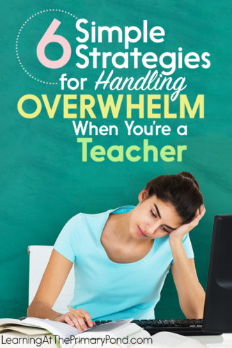 Feeling overwhelmed? Try these 6 things to get back on trick!