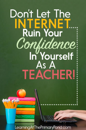 The Internet is great, but it also presents some real challenges for teachers. This post lists some important things to keep in mind!
