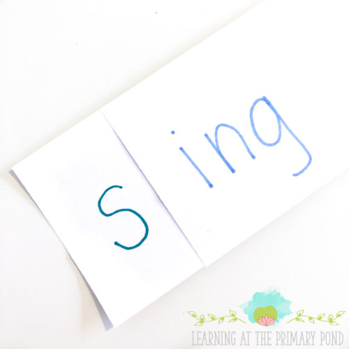 This blog post has phonics and word study ideas for Kindergarten, first, and second grade!