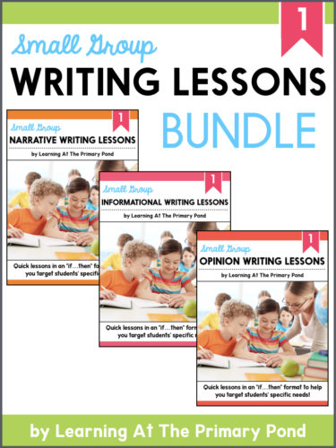 Category: Writing - Learning at the Primary Pond