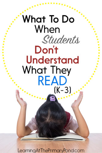 Do some of your students have poor reading comprehension skills? In this post, I share tips for helping these students improve their comprehension skills!