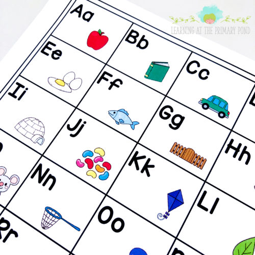 Grab this free alphabet chart and get ideas for helping students learn the letter sounds!