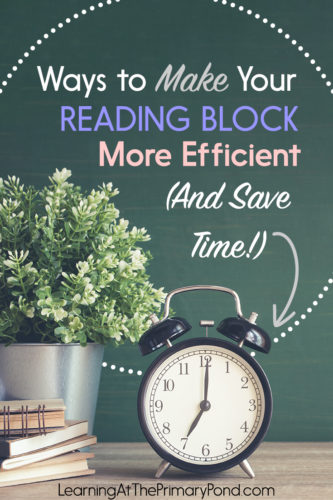 Want to make your reading block more efficient?