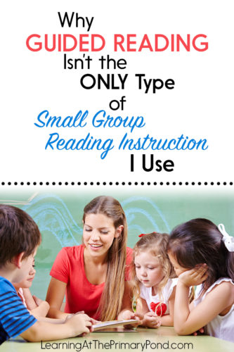 Is guided reading all you do in your Kindergarten, first grade, or second grade classroom? In this post, learn how to use reading strategy groups and other types of reading groups to better support your students!