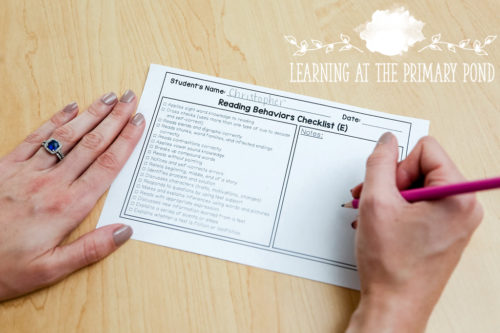 These guided reading checklists make assessment MUCH quicker and easier! Small group time passes by so quickly, but these checklists allow you to take guided reading notes while still remaining involved with your group. These checklists are designed for Kindergarten, first grade, and second grade guided reading.