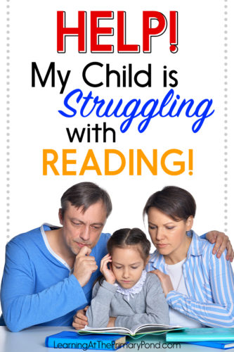 Is your child having trouble learning to read? This post has action steps and a free guide to help! It will guide you in what to do at home to support your child, and also how to seek educational testing at school.