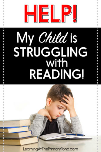 "Are you wondering, ""How do I help my child with reading?"" If you're the parent of child who is struggling with reading, help is here! This post has lots of ideas and a free guide to help you support your child with learning to read. Whether your child is struggling with comprehension or decoding, you'll find answers here!"