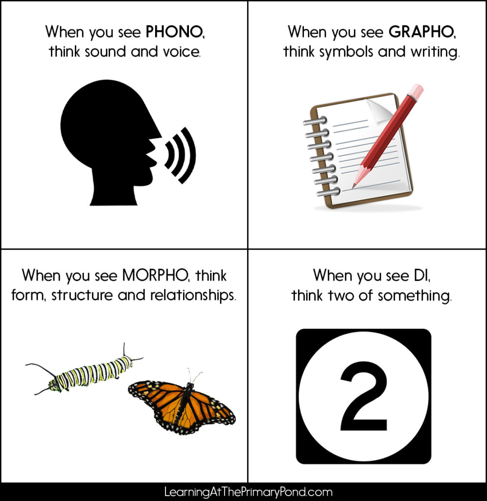 Keeping all those phonics terms straight is important! Here are some tips to help you remember what some of those terms mean.