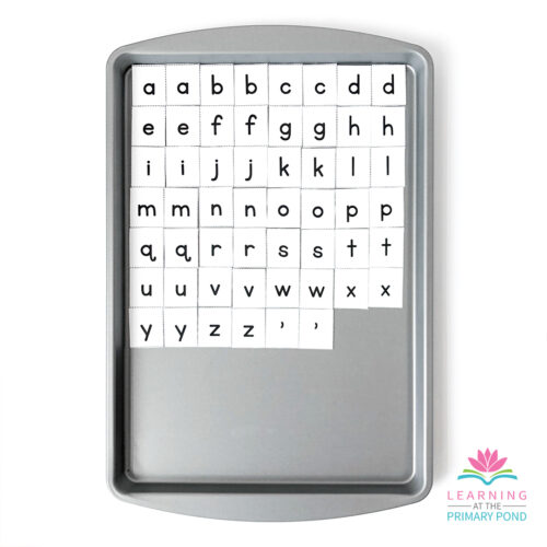 Make magnetic letters sets for all your students in a snap!! All you need to do is print, stick, cut and your done. Easy!!