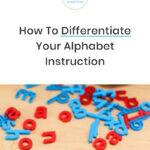 How to Differentiate Your Alphabet Instruction at the Beginning of Kindergarten