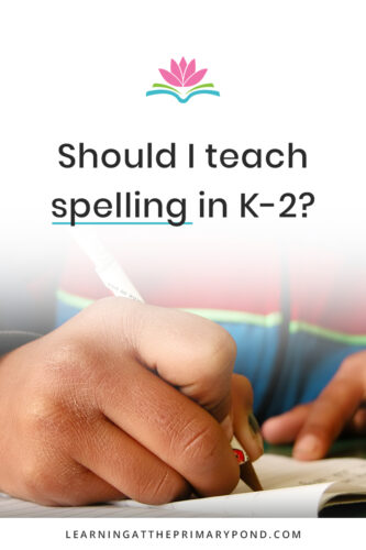 Is it okay to teach spelling? Is it okay to correct students' spelling? What about invented spelling? This post gives Kindergarten, 1st grade, and 2nd grade teachers guidance in teaching spelling and phonics effectively!