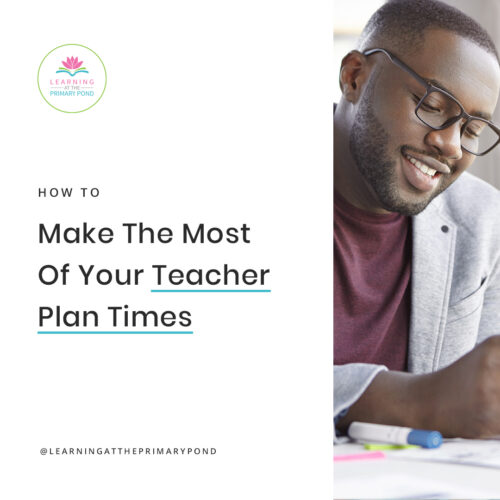Do you end up wasting a lot of your teacher planning periods? As a teacher, staying organized and lesson planning are so time consuming. We have to make the most of every minute we have! Read this blog post for lots of concrete strategies about how to make the most of your teacher prep time.