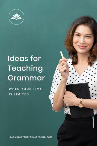 Do you struggle to find the time to teach grammar? Teaching grammar is crucial, but it can be hard to fit it in. So, how can you include grammar into your busy schedule? Read this blog post for tips on how to integrate grammar instruction when your time is limited.