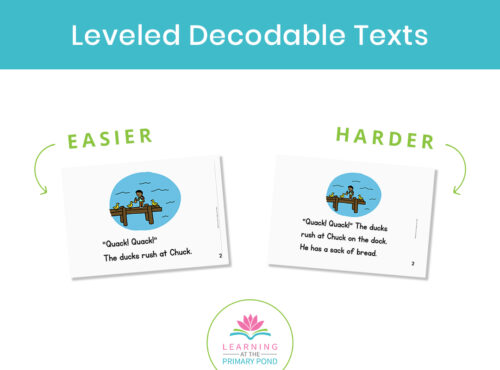 Want to find out more about decodable books? What they are and how I use them? Come check out the blog post today to find out if they make a good fit for you!