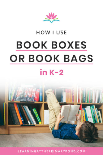 Do your students read or choose books during independent reading time? Come check out this blog post to see how I set my Kindergarten, first grade, or second grade students up with book boxes. This is such a time-saver!!