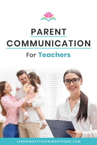 Looking for tools to communicate and build a community with your students' parents? This blog post has some of my favorite ways to break down the wall between parents and teachers!