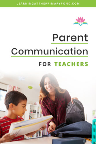 Looking for tools to communicate and build a community with parents in your classroom? This blog post has some of my favorite ways to break down the wall between parents and teachers!