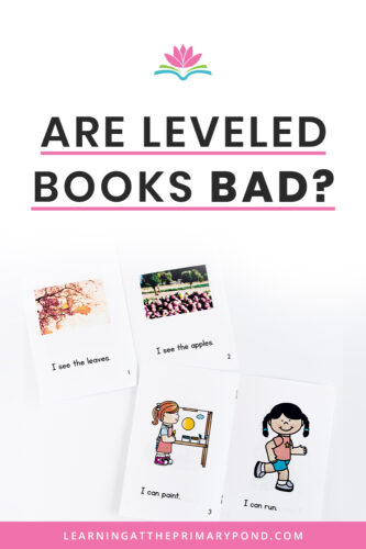 Should we use leveled reading books to teach kids how to read? The answer is complex. In this blog post, I explain when to use (and not to use) leveled texts when teaching Kindergarten, first grade, or second grade students.