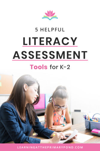 Looking for some great literacy assessments for your Kindergarten, first grade, or second grade students? This post covers phonics, reading, and writing. There are some links to free assessments too!