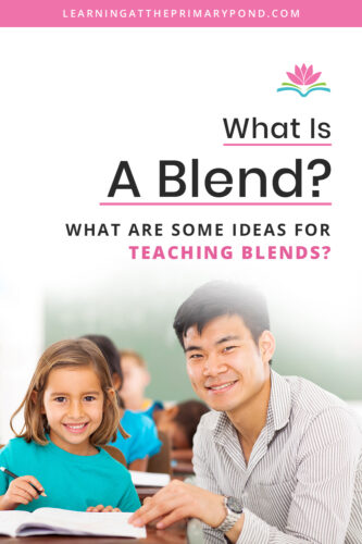 Do you know how to teach consonant blends? This blog post has lots of example words and information for teaching blends in Kindergarten, first grade, and second grade!