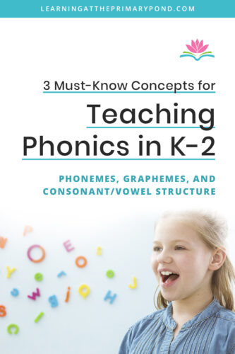 Do you know what a CCVC word is? What about a grapheme? Understanding phonemes, graphemes, consonant/vowel structure, and syllables will make you a better phonics and reading teacher!