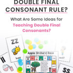 What Is The Double Final Consonant Rule? What Are Some Ideas for Teaching Double Final Consonants?
