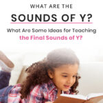 What Are The Sounds of Y? What Are Some Ideas for Teaching The Final Sounds of Y?