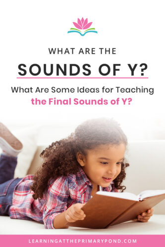 There are so many different sounds of y! Do you know them all? Do you know how - and when - to teach them to your first grade or second grade students? Check out this post for an explanation of the sounds of y and ideas for teaching the sounds of y!