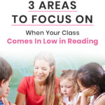3 Areas to Focus On When Your Class Comes In Low in Reading